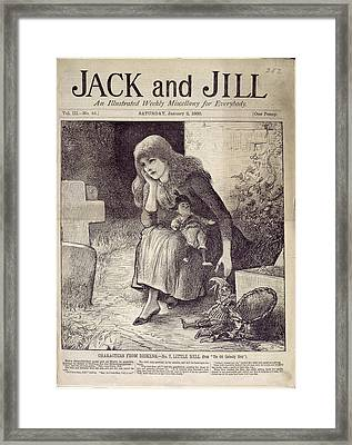 Little Nell Framed Print by British Library