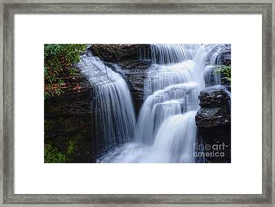 Framed Print featuring the photograph Little Niagara by Debra Fedchin