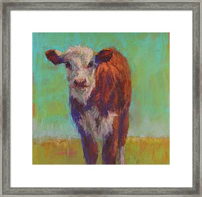Little Penny Framed Print by Susan Williamson
