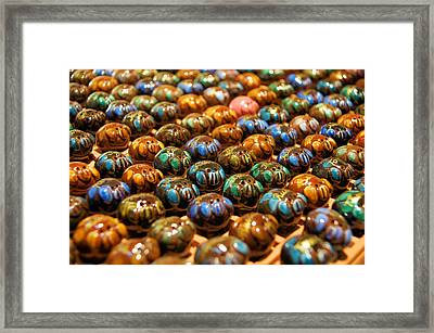 Little Pigs Framed Print by Ron Harpham