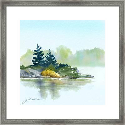 Little Pine Point Framed Print