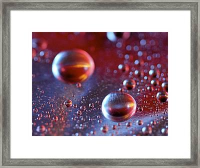 Little Planets Framed Print