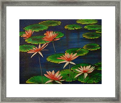 Little Pond Framed Print