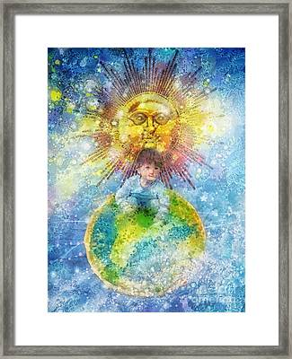 Little Prince Framed Print by Mo T