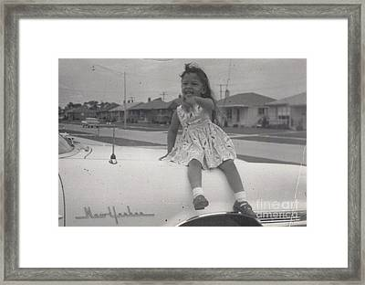 Framed Print featuring the photograph Little Puppi by Alga Washington