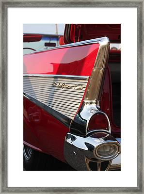 Little Red Balair Framed Print by Bret Worrell