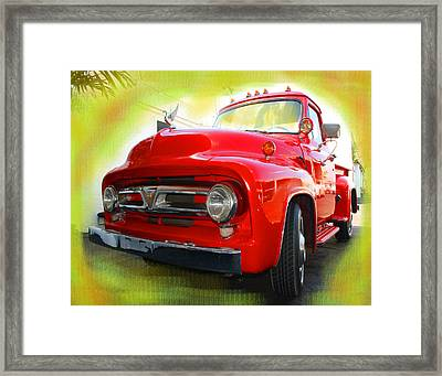 Little Red Framed Print by Doug Walker