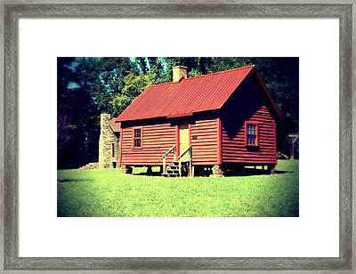 Little Red Framed Print by Kimberly Elliott