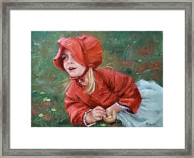 Little Red Ridinghood  Framed Print