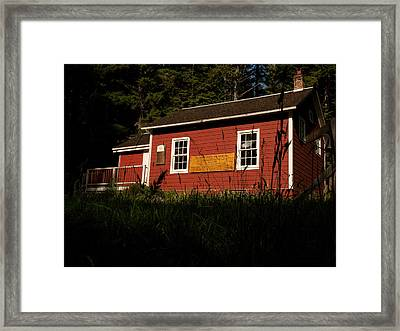 Little Red Framed Print by Wendy A Rosier