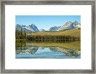 Little Redfish Lake Framed Print