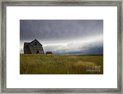Little Remains Framed Print by Bob Christopher