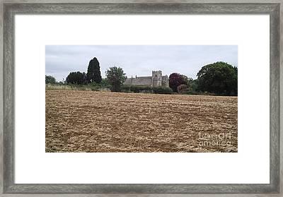 Little Rissington Church 2 Framed Print by John Williams