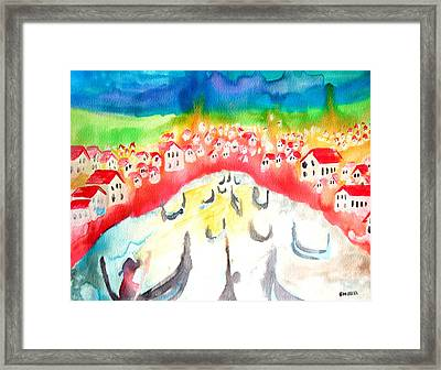 Little River Framed Print by Amy Sorrell
