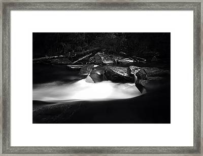 Little River Cauldron Framed Print
