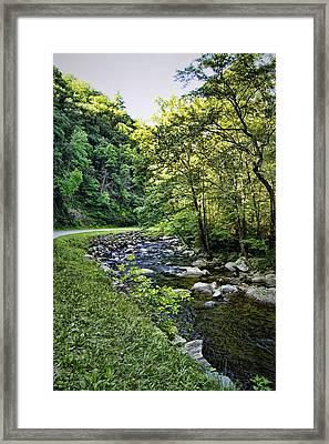 Little River Road Framed Print