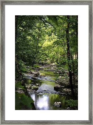 Little River Smoky Mountains Framed Print