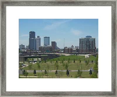 Framed Print featuring the photograph Little Rock Ar by John Mathews