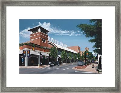 Little Rock River Market Framed Print