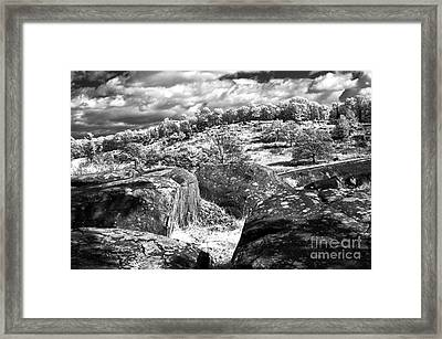 Little Roundtop Overlooking Devils Den Framed Print by Paul W Faust -  Impressions of Light