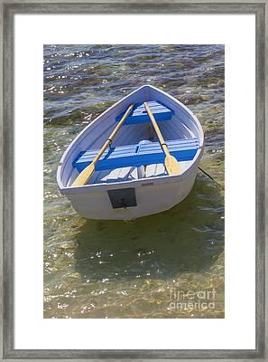 Little Rowboat Framed Print