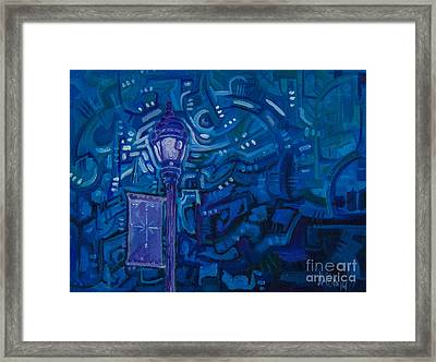Little Silver Night Light Framed Print