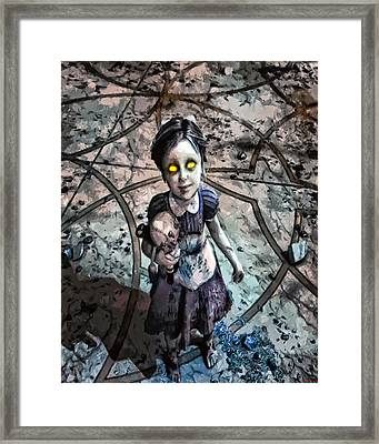 Little Sister Framed Print by Joe Misrasi