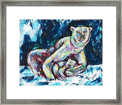 Little Sleeper Framed Print by Lovejoy Creations