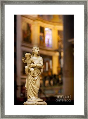 Little Statue Framed Print by Brian Jannsen