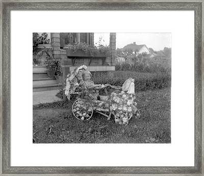 Little Tites Buggy Framed Print by William Haggart