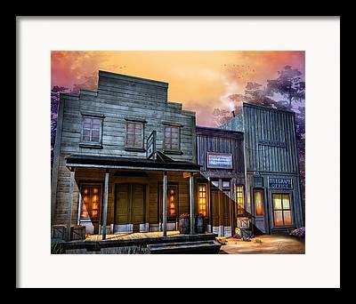 Kinkade Digital Art Framed Prints