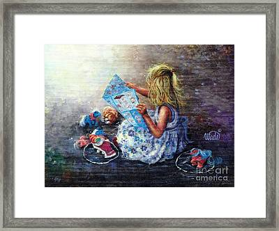 Little Treasures Framed Print