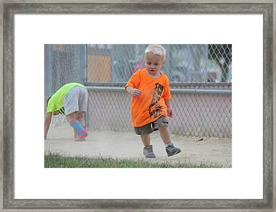 Little Tyke Framed Print
