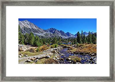 Little Valley Trail John Muir Wilderness Framed Print
