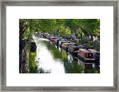Little Venice Framed Print by Keith Armstrong