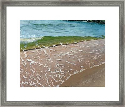 Little Wave Framed Print