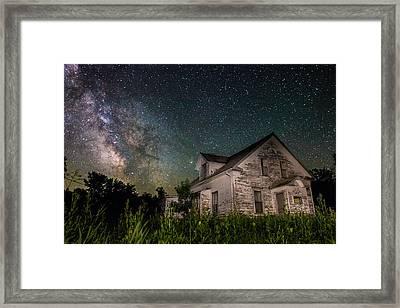 Little White House  Framed Print by Aaron J Groen