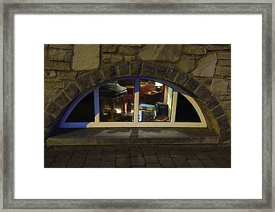 Little Window Framed Print