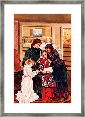 Little Women Framed Print by Patrick Whelan