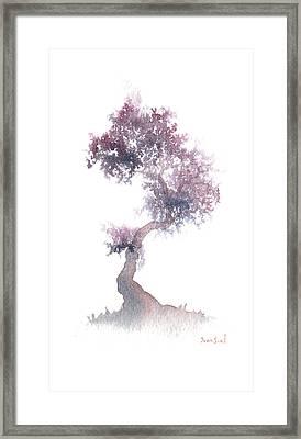 Little Zen Tree 1508 Framed Print by Sean Seal