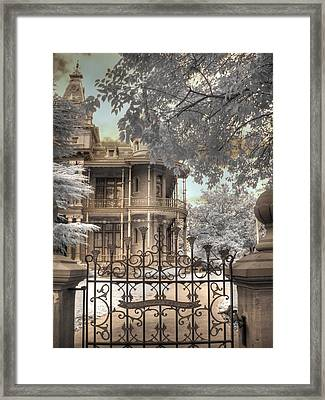 Littlefield Home Framed Print by Jane Linders