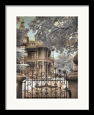 The Littlefield Home Framed Prints