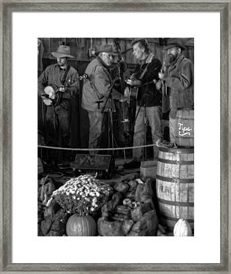 Live Bluegrass Music In Tennessee Framed Print by Dan Sproul