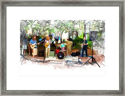 Live From Pritchard Park Framed Print