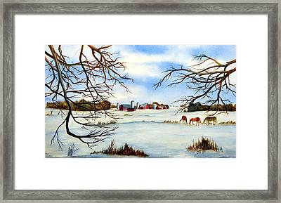 Live In Harmony Framed Print