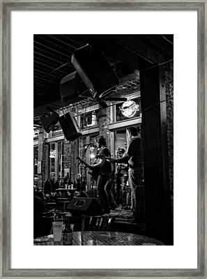 Live Music And Beer In Nashville Tennessee Framed Print by Dan Sproul