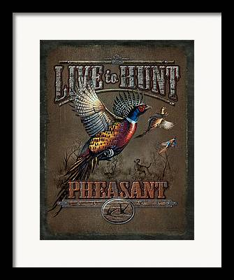 Gamebirds Framed Prints