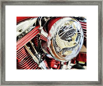 Live To Ride  Framed Print by Saija  Lehtonen