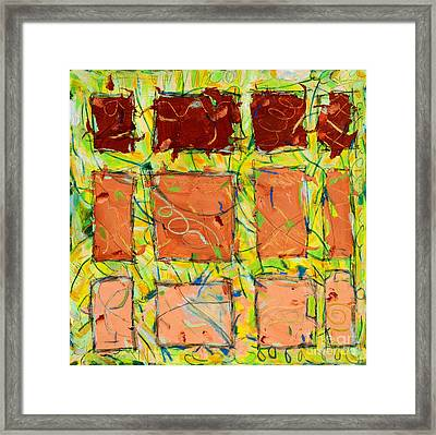 Live Wire Framed Print by Kelly Athena