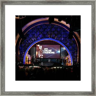 Live With Kelly & Michael. After The Framed Print